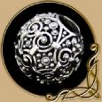 Large Silver Viking Age Ornamental Bead